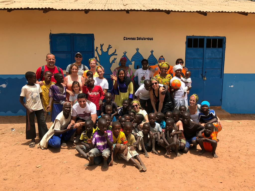 Voluntarios ITT en Gambia