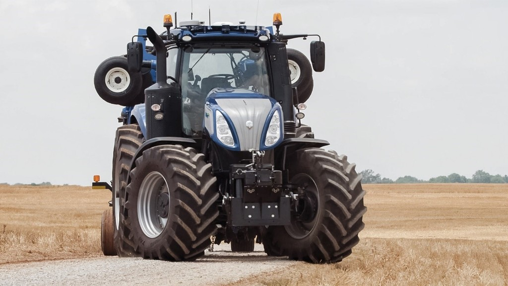 ITT tractores New Holland CM93