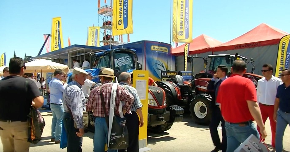 New Holland CM93 Expoliva