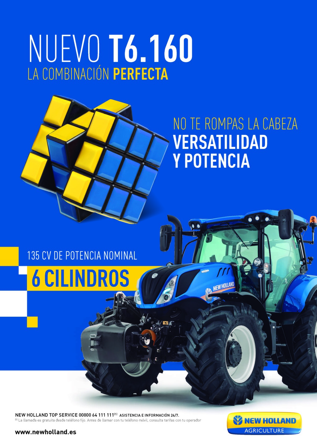 Tractor New Holland T6.160 CM93